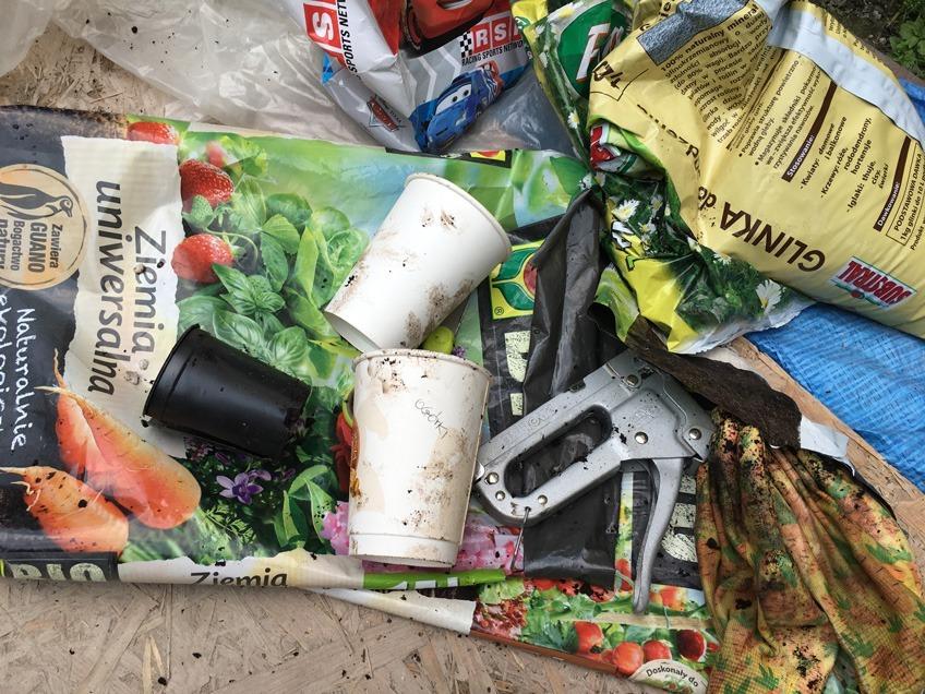 Własny ogródek warzywny w mieście, recyklingowe doniczki