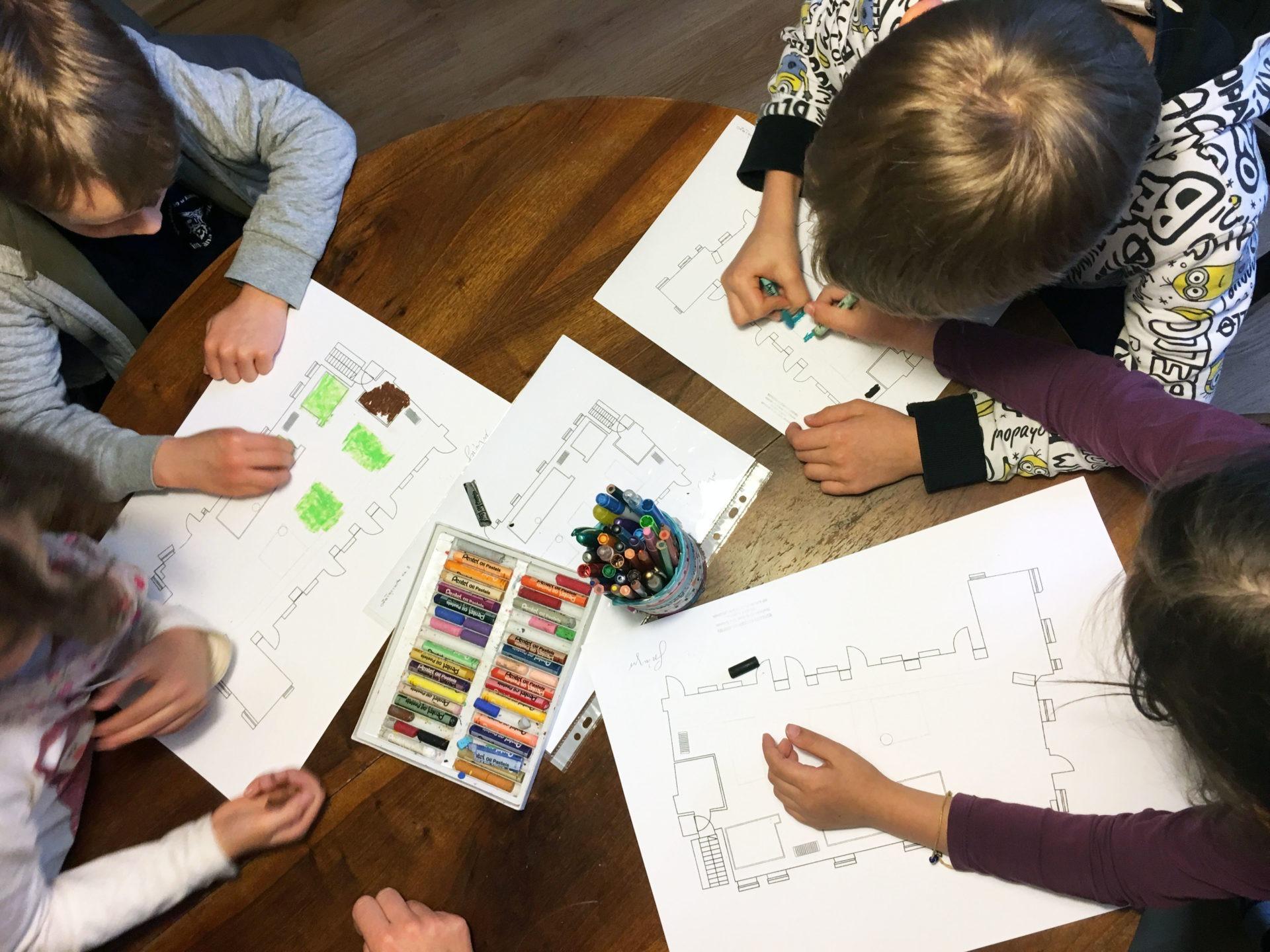 Planowanie ogrodu z dziećmi