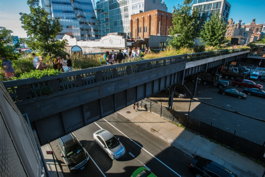 park High Line nowy jork