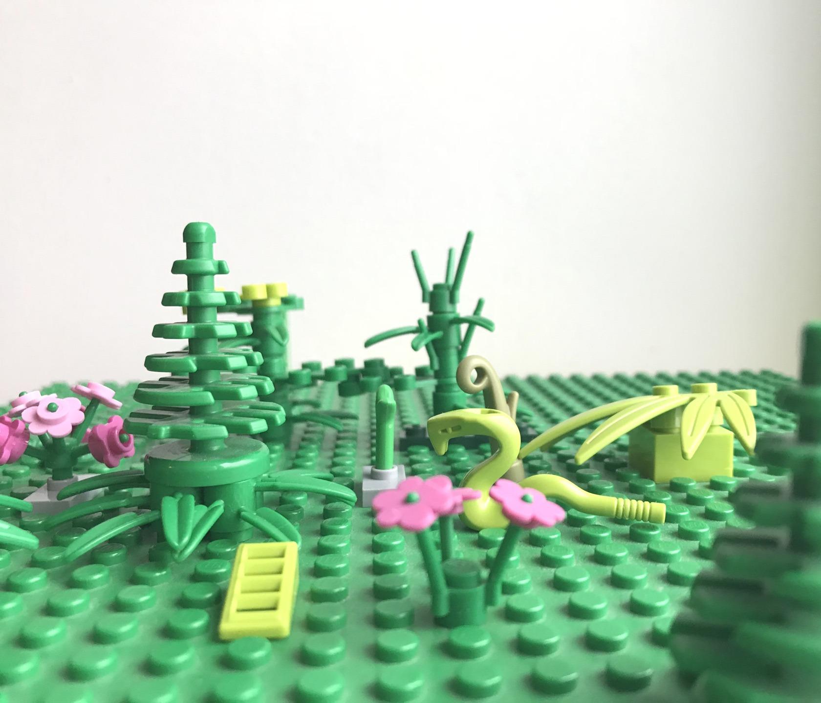 LEGO: klocki z materiału pochodzenia roślinnego!