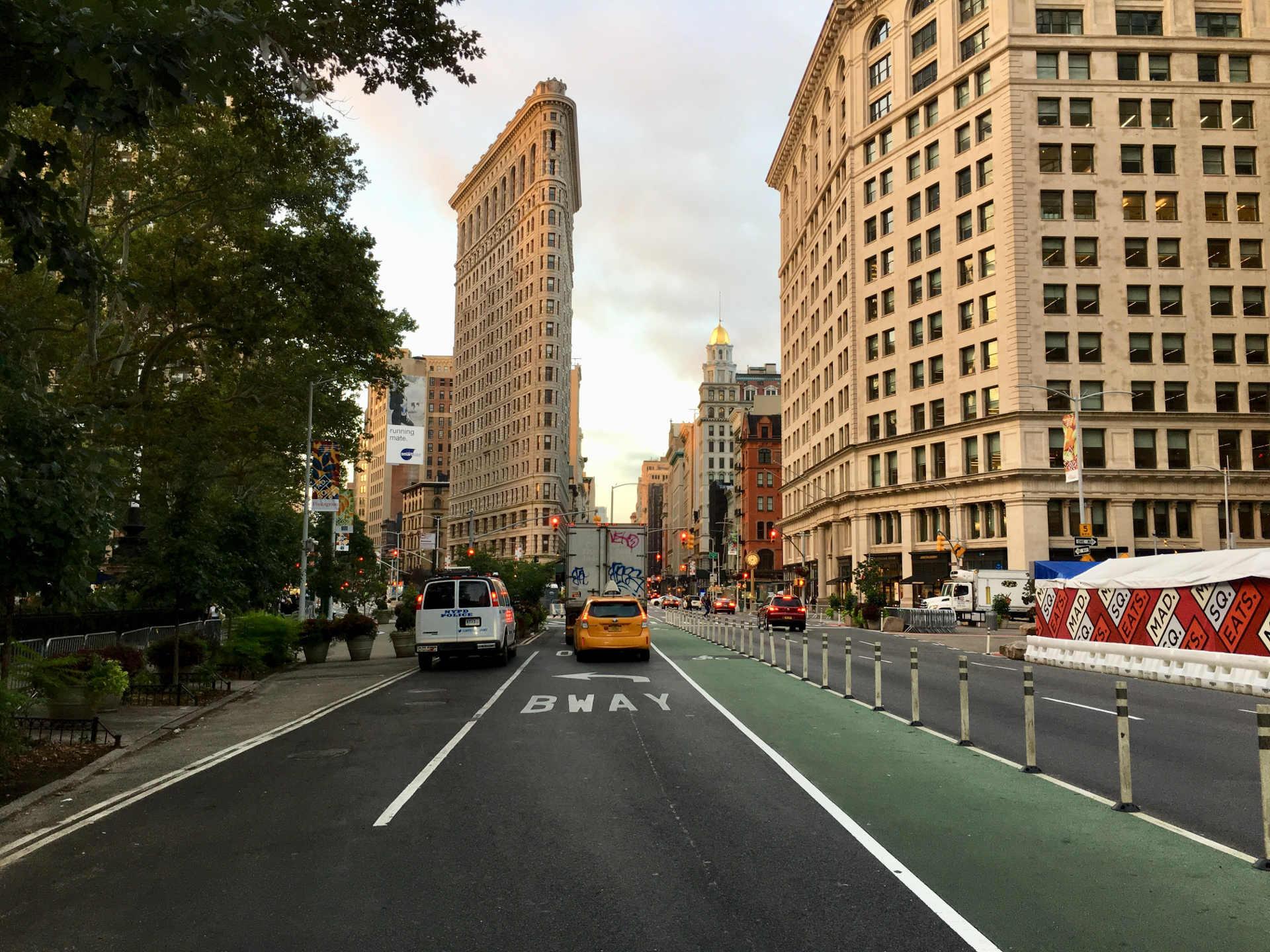 zielony Nowy Jork