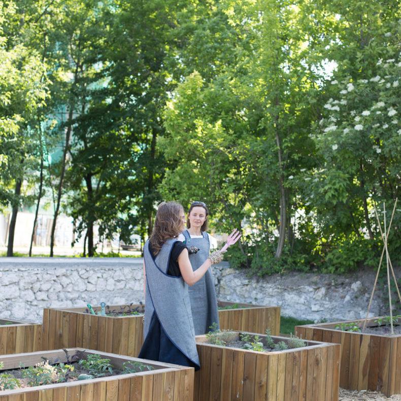 fartuchy dla miejskiego ogrodnika